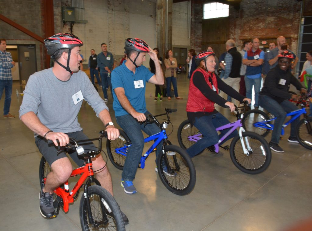 BNN Bike Building Event